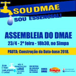 Assembleia do DMAE @ Simpa | Rio Grande do Sul | Brasil