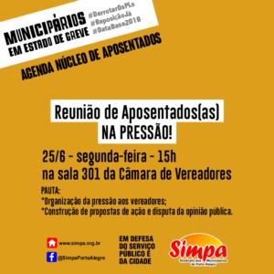 Reunião dos aposentados Simpa @ Simpa | Rio Grande do Sul | Brasil