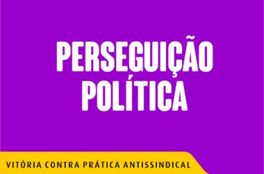 PERSEGUICAO POLITICA