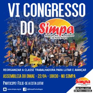 Assembleia do Dmae VI Congresso Simpa @ Simpa | Rio Grande do Sul | Brasil