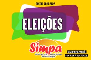Eleições Gestão 2019/2022 Simpa @ Simpa | Rio Grande do Sul | Brasil