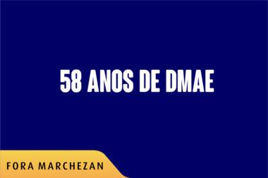 58 anos dmae