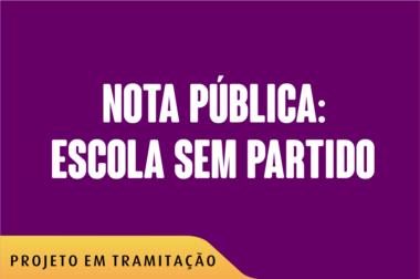 NOTA PUBLICA ESCOLA S PARTIDO