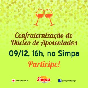 Confraternização do Núcleo de Aposentad@s @ Simpa | São Paulo | Brasil